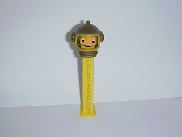 Cartoons in the movies pez for Little fish toys